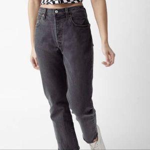 Vintage Levi's 501 Black Button Fly Jeans